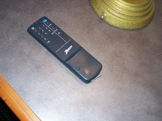 America's Inn: The tv remote