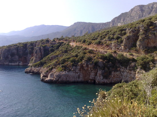 Kas, Turki: Beach