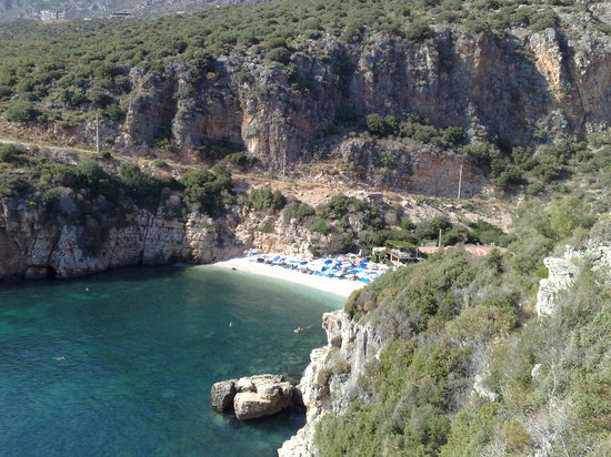 Kas, Turkey: Beach