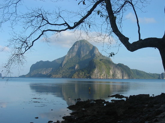 Эль-Нидо, Филиппины: manual fishing on the beach of Bacuit, El Nido