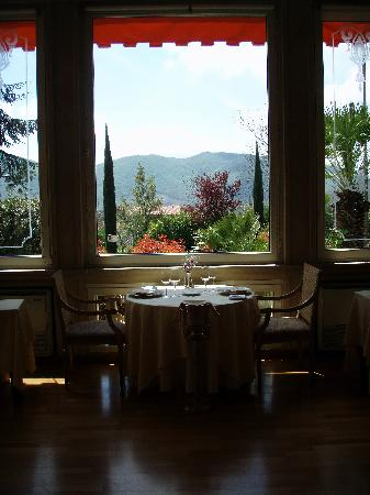 Grand Hotel Palazzo della Fonte : breakfast room