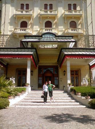Grand Hotel Palazzo della Fonte : front of the hotel