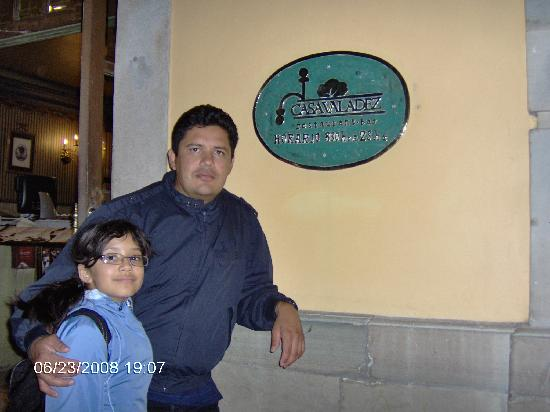 Hotel Insurgente Allende: Great place to eat
