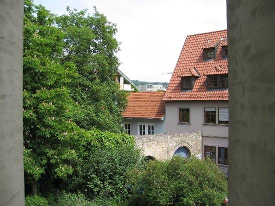 Hotel Grüner Baum: View from our window, Gruener Baum