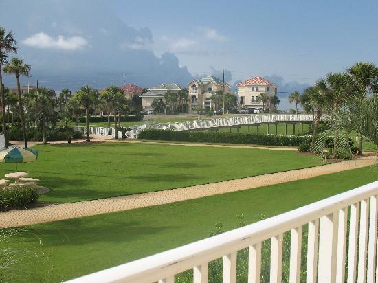 Amalfi Coast Resort: view from Amalfi balcony