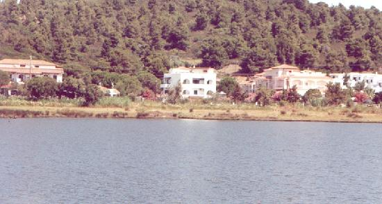 Maistrali Studios : View of Maistrali from across lagoon