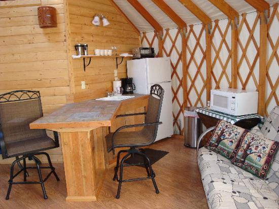 Alaska Base Camp: Kitchen In Yurt