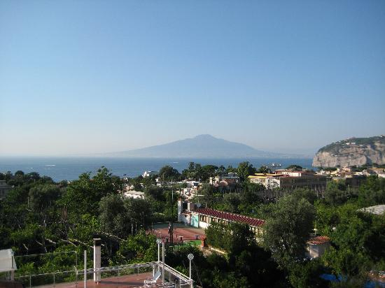 Hotel Central: View of Pompeii from Roof Terrace