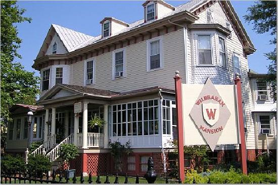 Wilbraham Mansion: Exterior of the Wilbraham