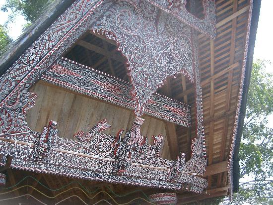 Samosir, Indonesia: Beautiful batak cottage