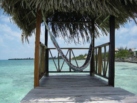Thatch Caye Resort: my meditation spot