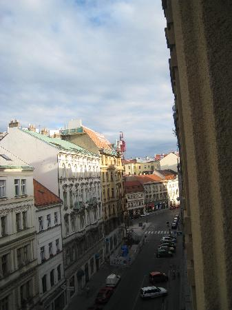 Church Pension Prague: view from the room