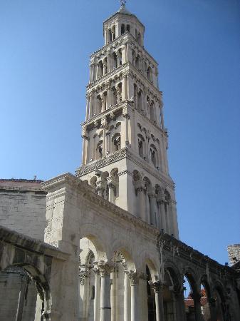 Palais de Dioclétien : The Belfry at Diocletian's Mausoleum