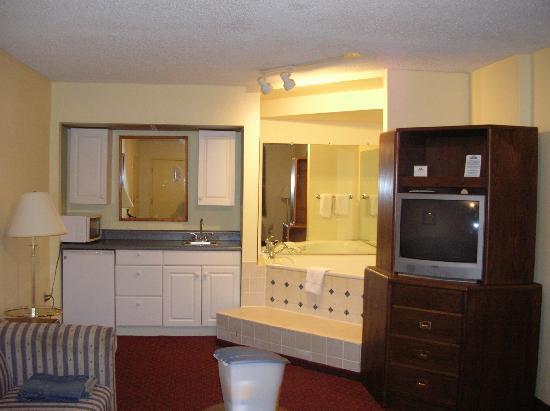 Columbia, Теннесси: Suite Room