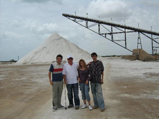 La Guajira Department, Colombie : Las salinas de manaure