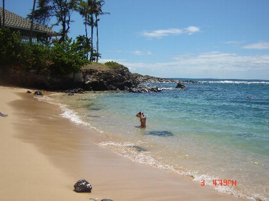 Hale Mahina Beach Resort: Kapalua beach