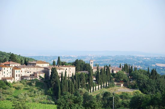 Castellina In Chianti, Italy: Castellina / Fonterutoli / Siena