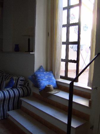 Finca Son Jorbo: to the terrace of Azul