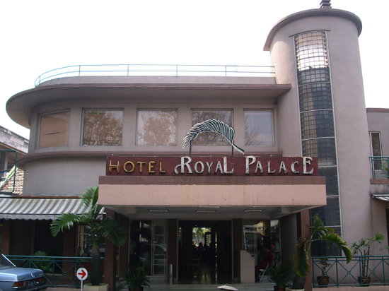 Royal Palace Hotel : The front of the hotel