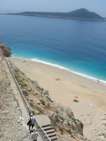 Kalkan, Turkey: Kaputas beach