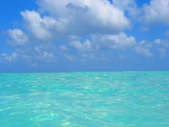 the Gatorade perfect water of Bora Bora