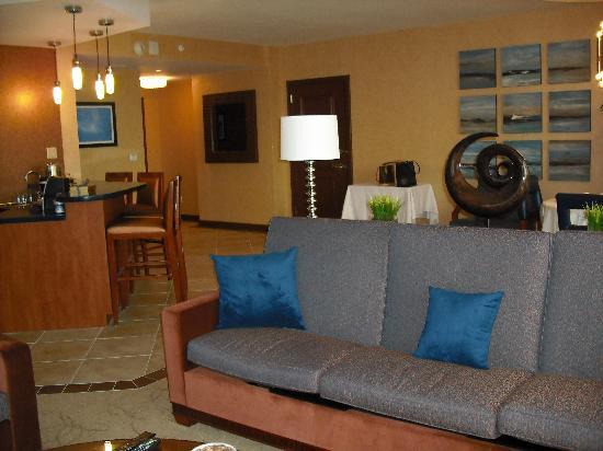 Harrah's Resort Atlantic City: living area