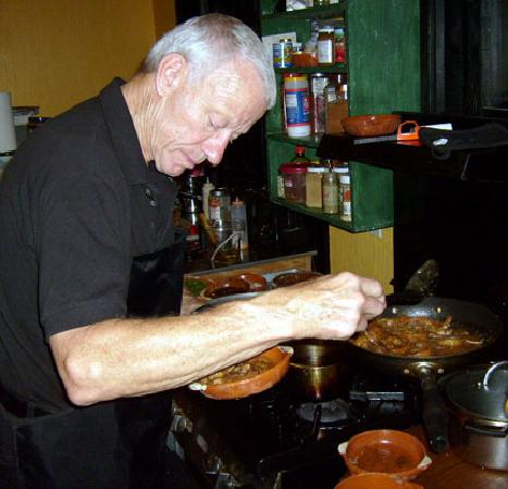Ajijic, Mexiko: Chef, Herb Hazen