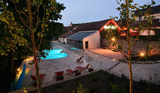 Hotel de la Poste: the pool