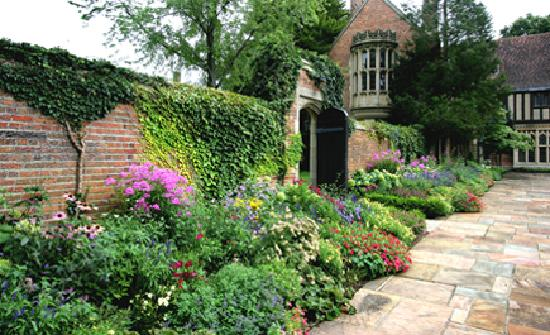 Meadow Brook Hall: The grounds are covered with beautifully maintained gardens.