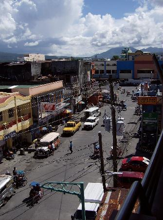 Tabaco City, Филиппины: View from the roof of the Gardenia Hotel