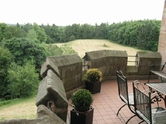 Dalhousie Castle: perfect view
