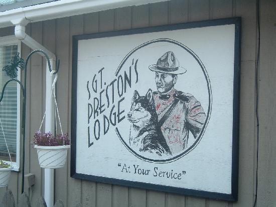 Sgt. Preston's Lodge: The inspiration for the name