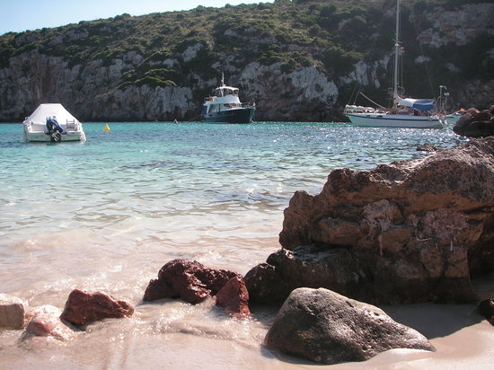 Cala Canutells, Spain: la plage
