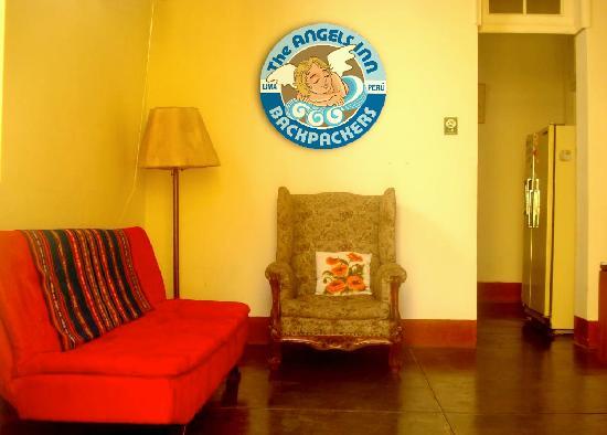 The Angels Inn Backpackers Peru: living room
