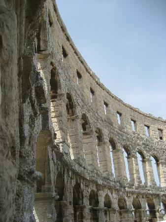 Pula, Croatia: The Arena from the Inside