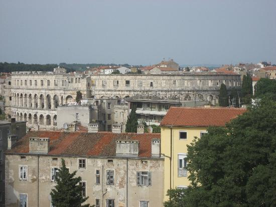 Pula, Croatia: The Arena from the Architectural Museum