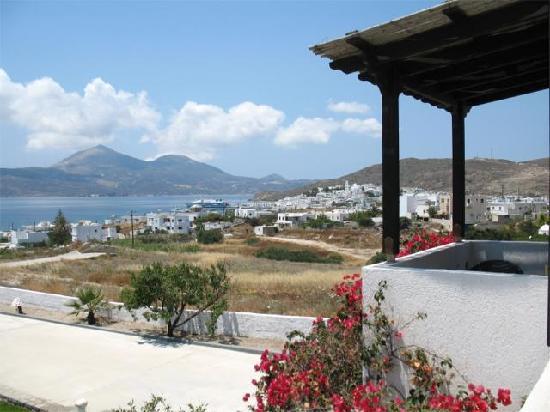 Santa Maria Village Resort & Spa: Right view of Adamas town