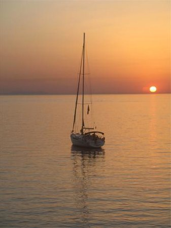 Poseidon Hotel - Suites: Sunset view