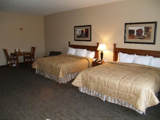 Comfort Inn & Suites Blue Ridge: Guest Room - Very nice & cozy!!!!