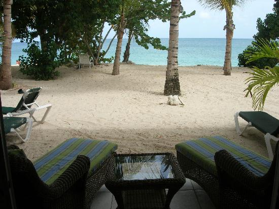 Galley Bay Resort : View from our Beachfront Suite
