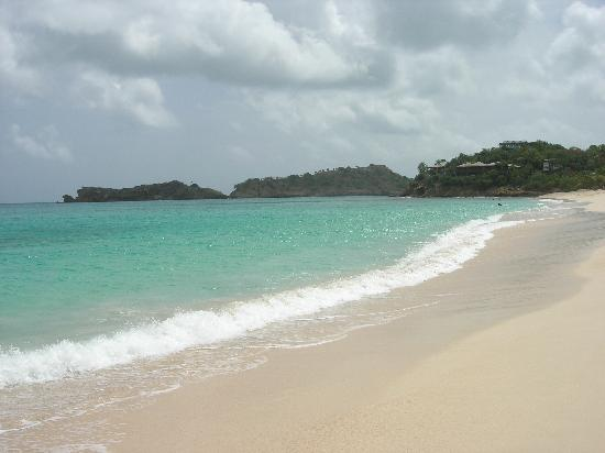 Galley Bay Resort: The very busy beach!