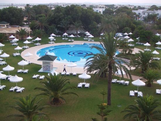 Hotel Palace Oceana Hammamet: Vue de la chambre