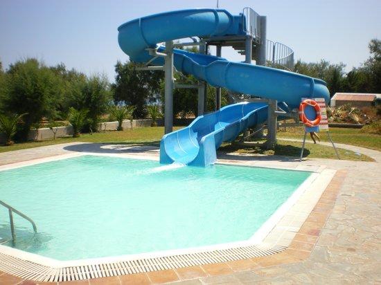 Pegasos Beach Hotel: The water tobogan