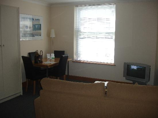 SACO Jersey - Merlin House: Living Room