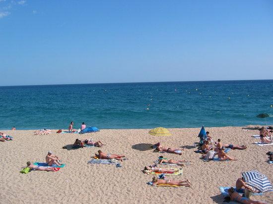 Lloret Beach: 2006 june