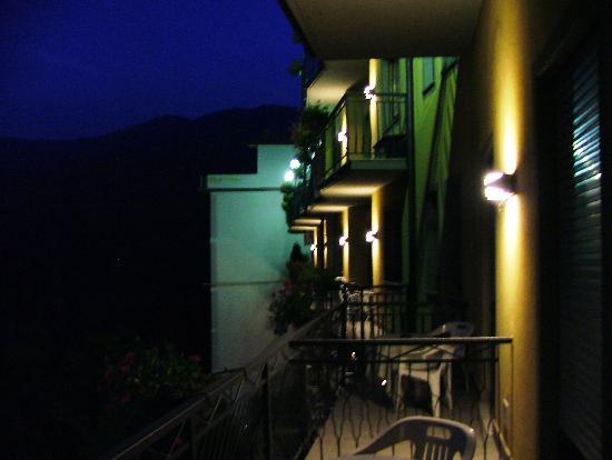 Balcony at night picture of hotel resort spa miramonti