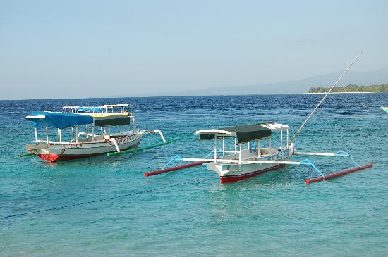 El mar desde la playa frente a Villa Nautilus