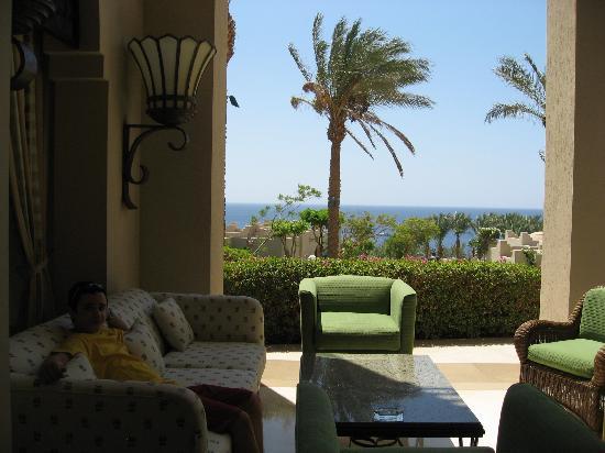 Four Seasons Resort Sharm El Sheikh: Vistas desde arriba