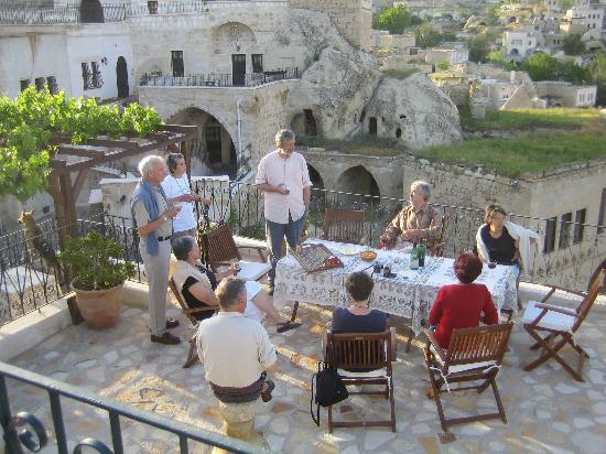 AlKaBriS: sur la terrasse