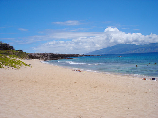 Oneloa Beach in Kapalua